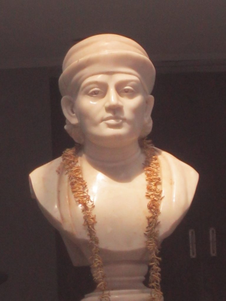 Photo: bust of Motilal Seal